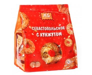 """Печенье """"Севастопольское"""" с кунжутом, 180 г."""