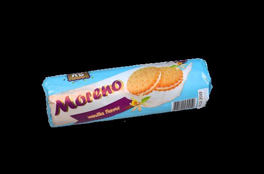 """Печенье """"Moreno"""" с начинкой со вкусом ванили, 150 г."""