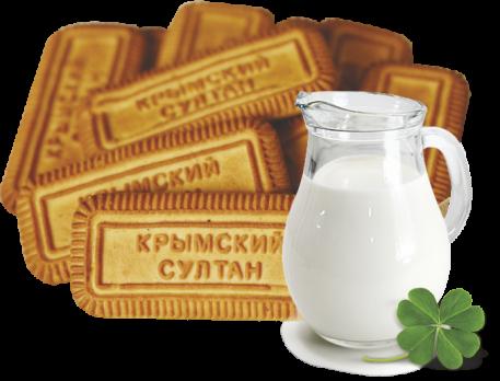 """Печенье """"Таврида"""" с ароматом топленого молока, 500 гр."""