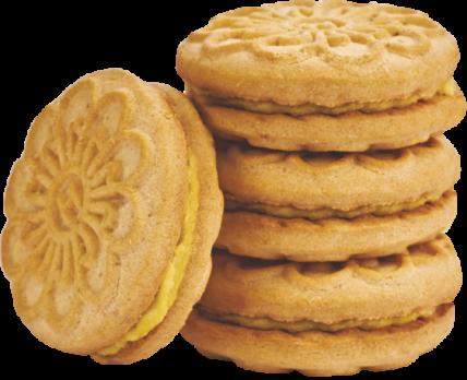 """Печенье """"Любовь крымчанки"""" с начинкой с ароматом ванили, 500 гр."""