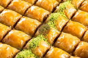"Пахлава ""Озель"" с грецким орехом, 0,5 кг."