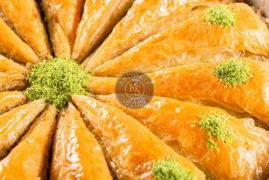 "Пахлава ""Хавуч"" с грецким орехом, 0,5 кг."