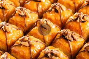 "Пахлава ""Балбадем"" с грецким орехом, 0.5 кг."