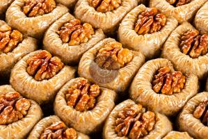 "Пахлава ""Бюль-бюль ювасы"" с грецким орехом, 500 гр."