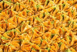 "Пахлава ""Бохча"" с грецким орехом, 0,5 кг."