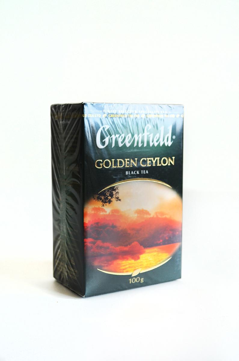 чай гринфилд 100 пакетов цена