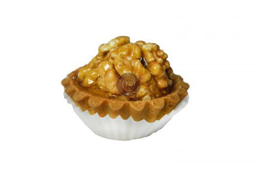 Тарталетка с орехами (грецкий орех)