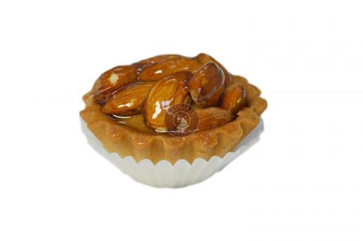 Тарталетка с орехами (миндаль)