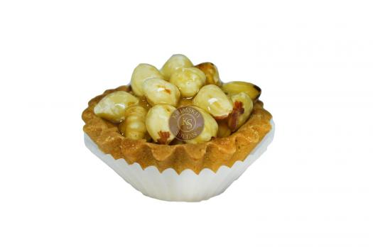 Тарталетка с орехами (фундук)