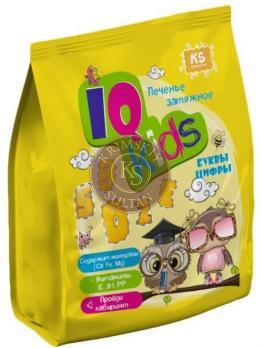 "Печенье ""IQ KIDS.Буквы,цифры"", 180 г"