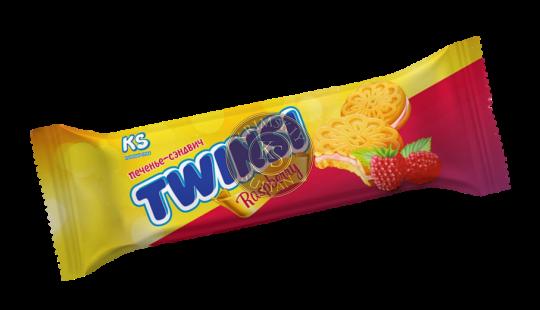 """Печенье """"TWINSI"""" с ароматом малины, 60 г"""