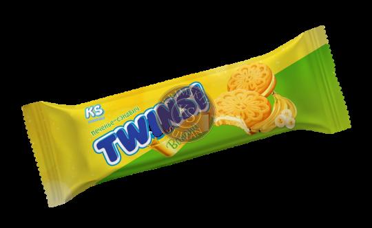 "Печенье ""TWINSI"" с ароматом банана, 60 г"